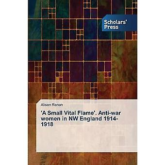 A Small Vital Flame. Antiwar women in NW England 19141918 by Ronan Alison