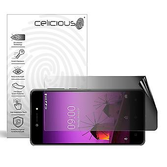 Celicious Privacy 2-Way Landscape Anti-Spy Filter Screen Protector Film Compatible with Lava Z50