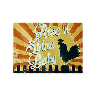 Grindstore Rise ´N Shine Baby Glass Chopping Board