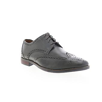 Florsheim Matera II Wing  Mens Gray Leather Dress Oxfords Shoes