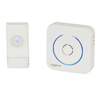 TechBrands 16 Melodies Btry W/less Doorbell (50m Transmission Range)