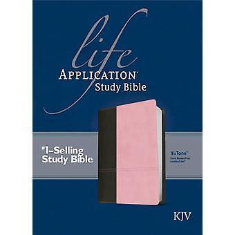KJV Life Application Study Bible Tutone Brown/Tan - 9781414391069 Book