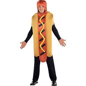 Men Hot-Dog Costume