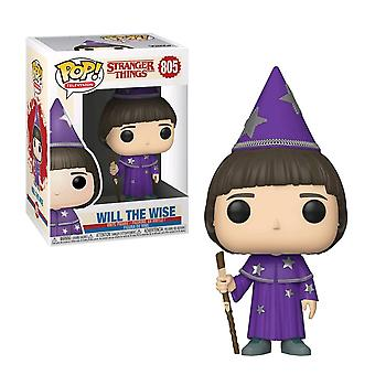Stranger Things Will the Wise Pop! Vinyle