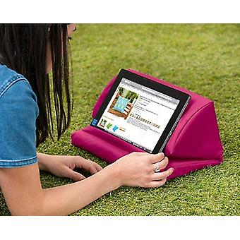Pink Water Resistant Pull Out Faom Laptop Tablet Stand