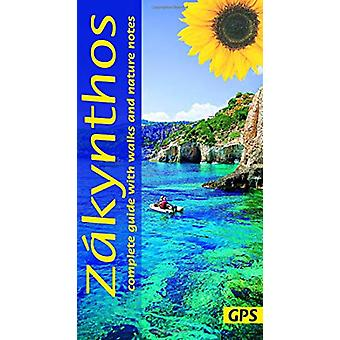 Zakynthos - 4 car tours - nature notes - 22 long and short walks with