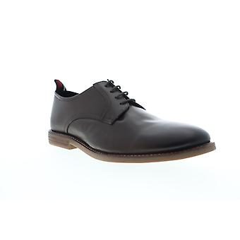 Ben Sherman Brent plain toe miesten ruskea nahka low top Oxfords kengät