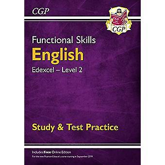 New Functional Skills Edexcel English Level 2 - Study & Test Prac