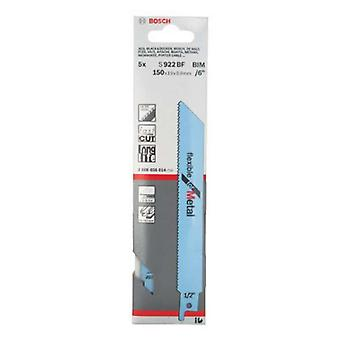 Bosch S922BF Reciprocating Saw Blades Metal 5 Pack