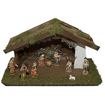 Voederbak NILE houten Manger kerststal kerst geboorte stabiel