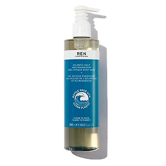 REN Atlantic Kelp and Magnesium Anti-Fatigue Body Wash 300ml