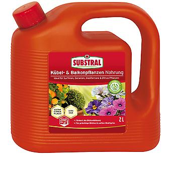 SUBSTRAL® Pot and balcony plants Food, 2 litres