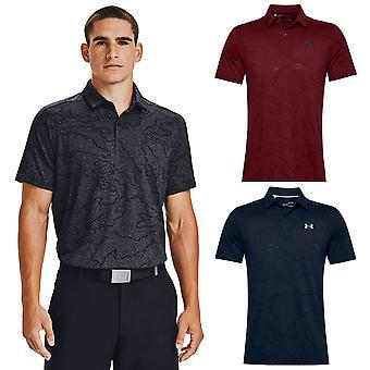 Under Armour Mens Vanish NCG Camo Wicking Stretch Golf Polo Shirt