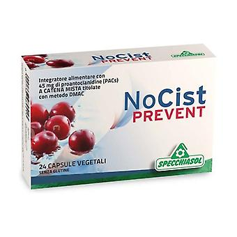 NoCist Prevent 24 vegetable capsules