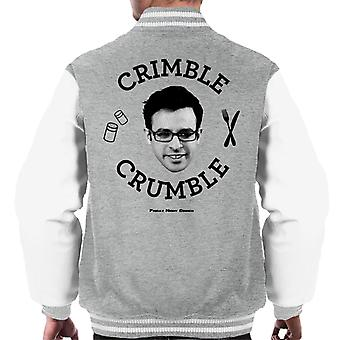 Friday Night Dinner Adam Crimble Crumble Men's Varsity Jacket