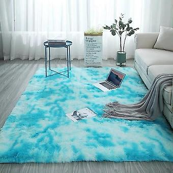 Modern Anti Slip Tie Dyeing, Soft Carpets / Mats / Rugs For Living Room Or