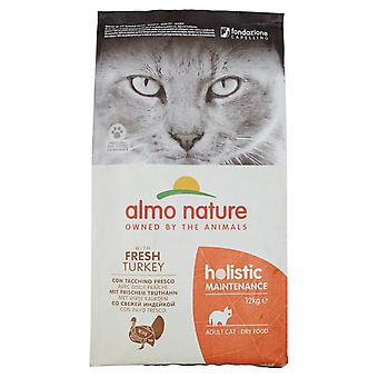 Almo Nature Holistic Maintenance Cat Dry Food Adult Fresh Turkey - 12kg