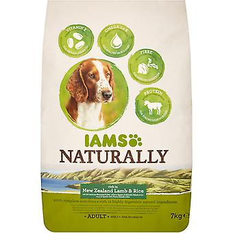 Iams Naturally Adult Dog Rich In New Zealand Lamb & Rice - 7kg