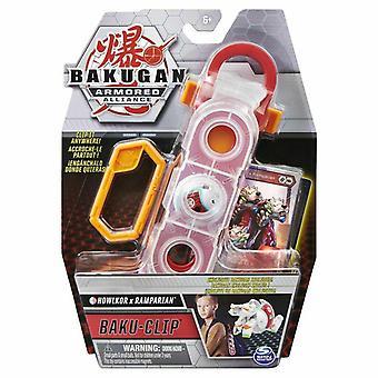 Bakugan Baku Clip - Howlcor x Ramparian