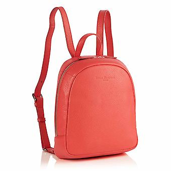 Poppy Mini Leather Backpack in Jaipur Pink Richmond Chrome Free Leather
