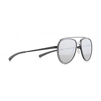 Sunglasses Unisex Evens Cat.3 matt silver/matt black (002)