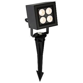 Firstlight - LED 4 Licht Outdoor Wandlicht & Spike Spot Graphit IP54