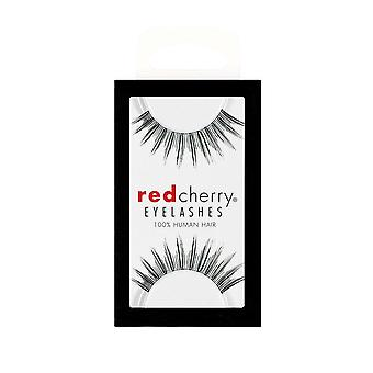 Red Cherry False Eyelashes - #38 Daisy - Perfect Curl Handcrafted Lashes