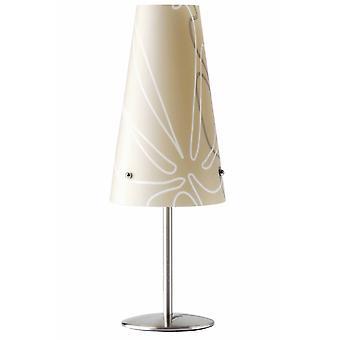 LYSANDE Lampa Isi Bordslampa Brun | 1x C35, E14, 40W, lämplig för ljuslampor (medföljer ej) | Skala A++ till E