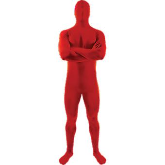 Orion costumes Mens Womens rouge seconde peau costume Déguisements Body costume