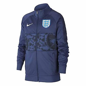 2020-2021 England Nike Anthem Jacket (Navy) - Kids