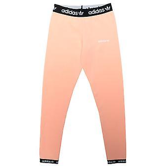 Girl's adidas Originals Junior Leggings in Pink
