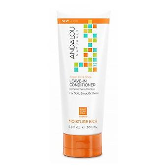 Andalou Naturals Moisture Rich Conditioner, Argan Oil & Shea 11.5 oz