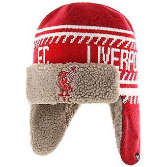 47 Brand Winter Hat ICE TRAPPER - LIVERPOOL FC