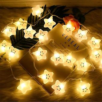 10led Star Copper Wire String Lights Waterproof Christmas Led Holiday Home