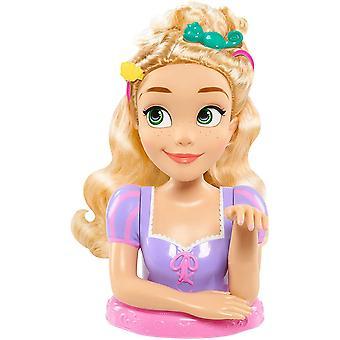 Disney Prinsessa Rapunzel Deluxe muotoilu pää