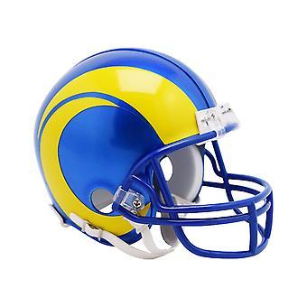 Riddell VSR4 Mini Football Helmet - NFL Los Angeles Rams