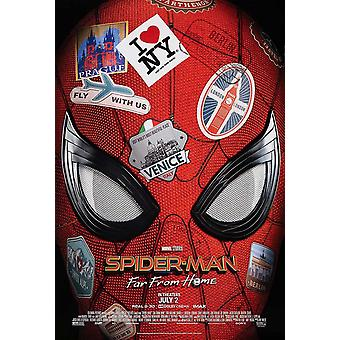 Spider-Man Far From Home Original Movie Poster Final Style