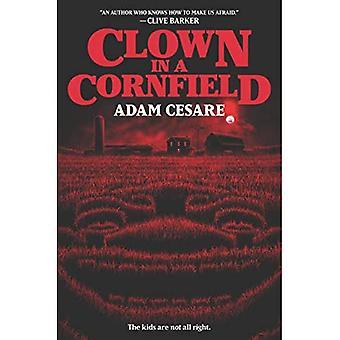 Clown in een Cornfield