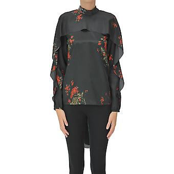 Red Valentino Ezgl003071 Women's Black Polyester Blouse
