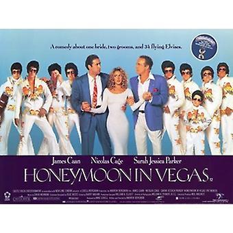 Luna de miel en Vegas Movie Poster (11 x 17)