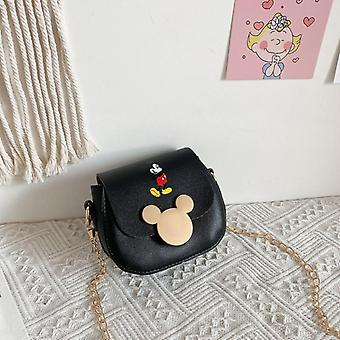 Disney Mickey Mouse Messenger Shoulder Bag, Coin Purse Fashion Mickey Pattern