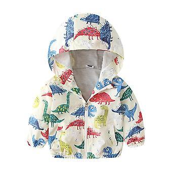 Brise-vent de printemps, manteau à capuchon de veste d'enfant d'automne, vêtement d'extérieur