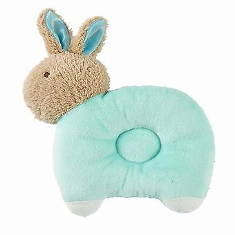 Newborn Baby Pillows Lovely Animal Pattern Shape Anti-rollover Headrest Pillow