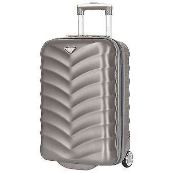 Flight knight lightweight cabin hand luggage 55x35x20cm small carry on suitcase