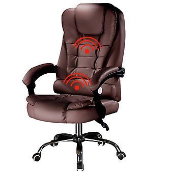 Chaise de jeu de massage/ordinateur, chaise de personnel avec ascenseur et fonction pivotante