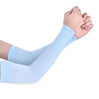 Long Gloves Sun Uv Protection Hand Protector Cover/arm & Ice Silk