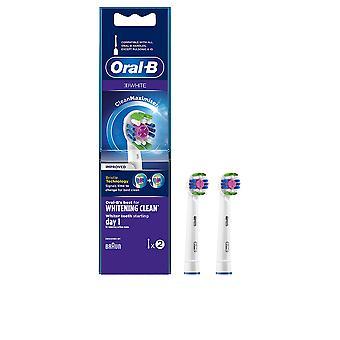 Oral-b 3d White White Blanqueo Limpio Cabezales 2 Uds Unisex