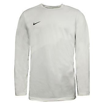 Nike Dri Fit Homme Training Long Sleeve Football Top White 329363 100 A66D