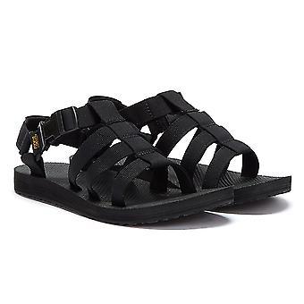Teva Original Dorado Womens Black Sandals