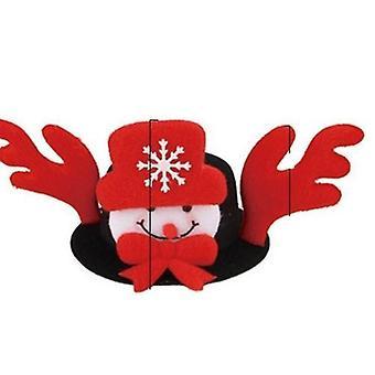 Halloween Pet süße Santa Schneemann Fledermaus Kopf Elch Horn Kopfschmuck Hut